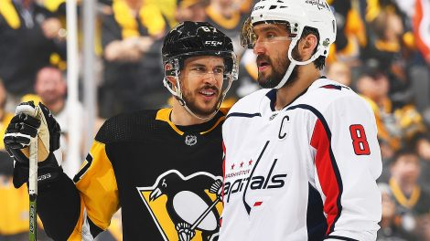 Sidney-Crosby;-Alex-Ovechkin;-Pittsburgh-Penguins,-Washington-Capitals