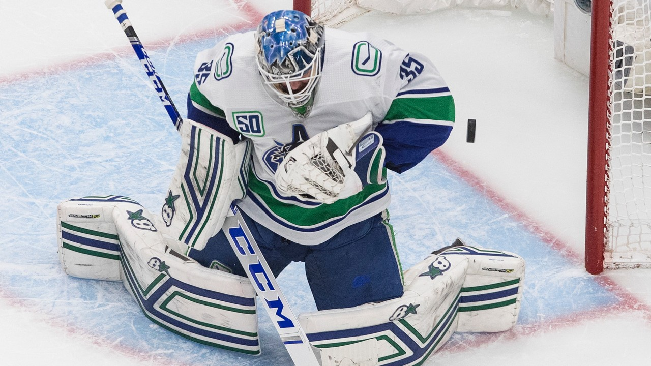 Outstanding outing by Thatcher Demko keeps Vancouver's hopes alive