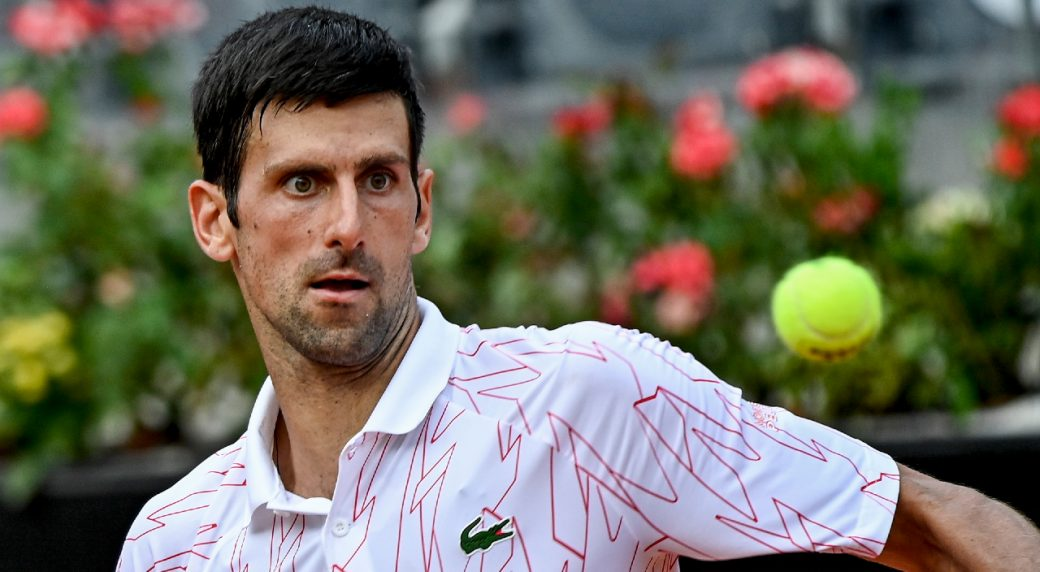 Djokovic Loses His Cool Again During Win At Italian Open Sportsnet Ca