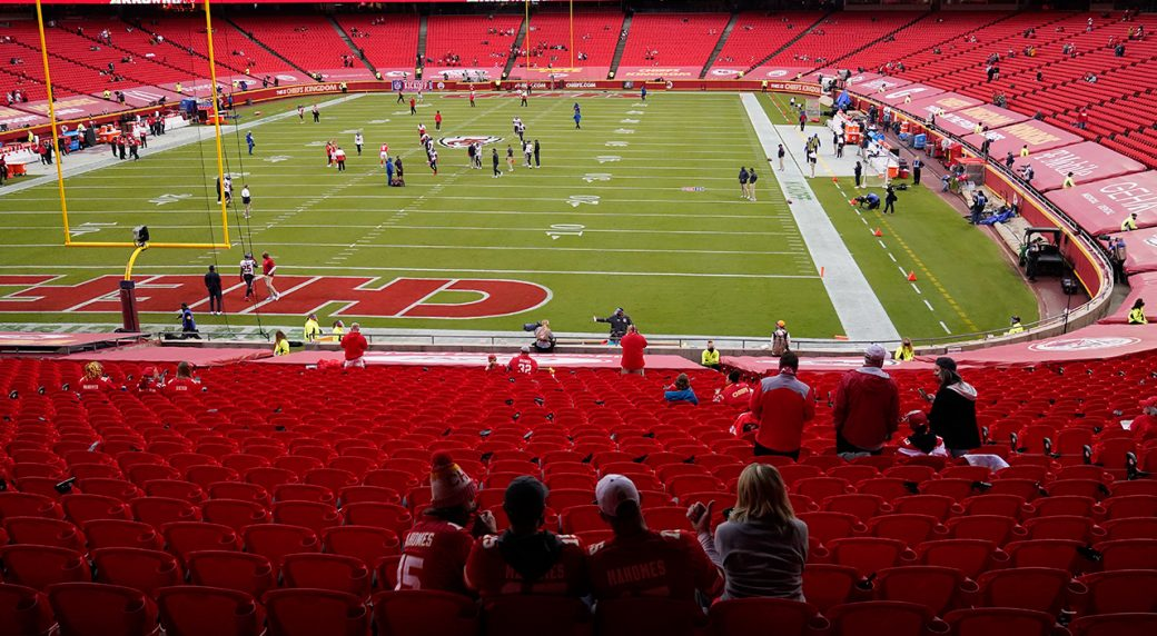 Fan At Arrowhead Stadium In Week 1 Tests Positive For COVID-19