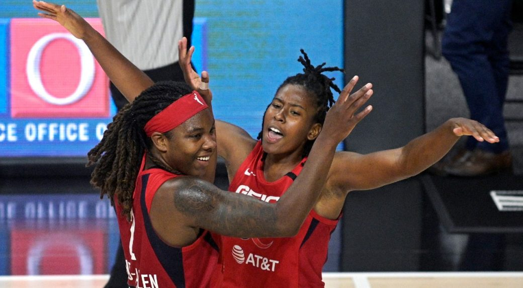 Mystics grab final WNBA playoff spot in win over Dream