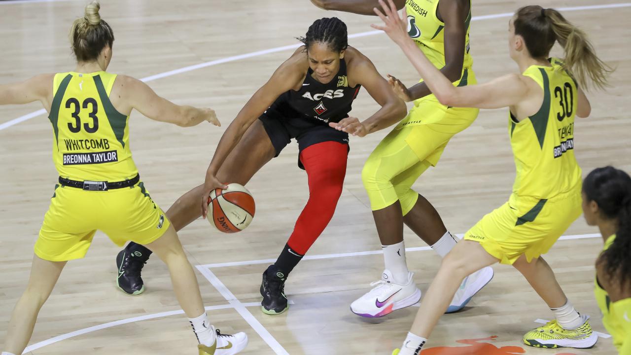 Battle of MVPs headlines WNBA Finals between Aces, Storm