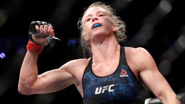 Holly-Holm-celebrates-after-a-UFC-win