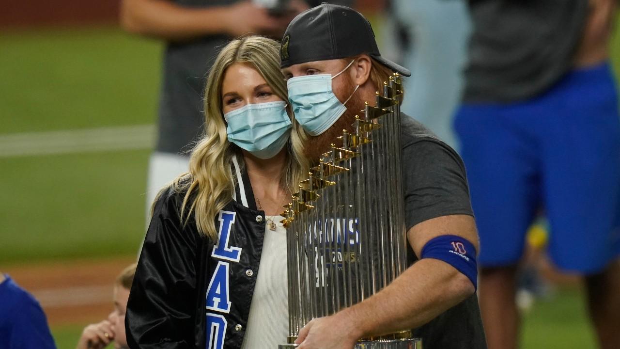 MLB investigating after Turner put others 'at risk' to celebrate title