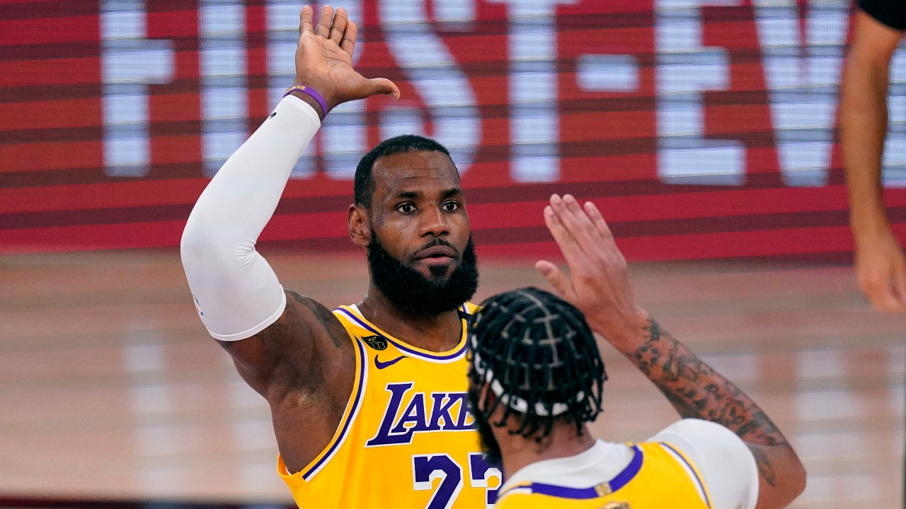 The job is not done': Lakers not