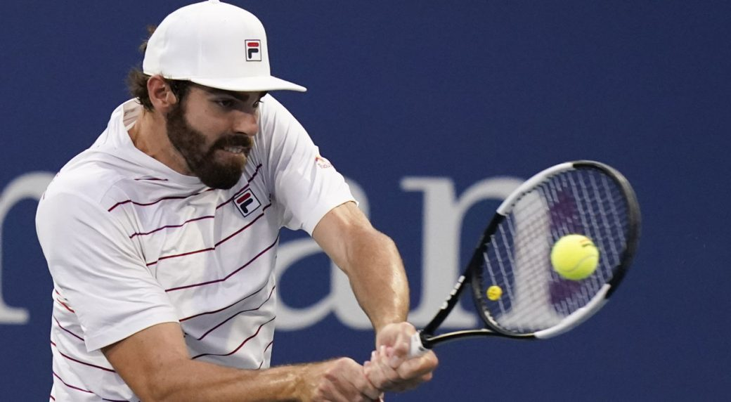 Opelka fights back to oust top seed Medvedev at St. Petersburg Open