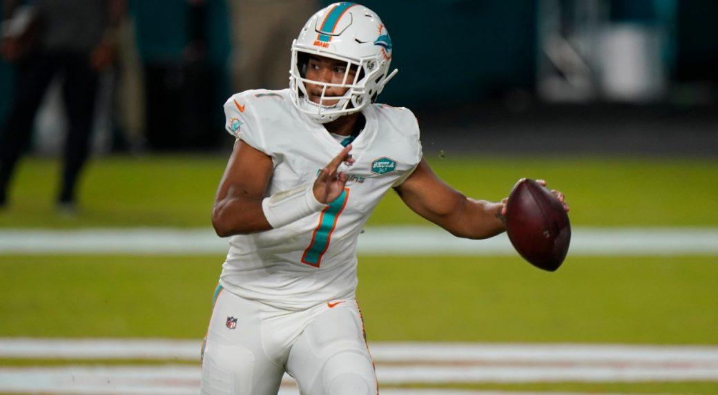 Dolphins to name Tua Tagovailoa as starting quarterback