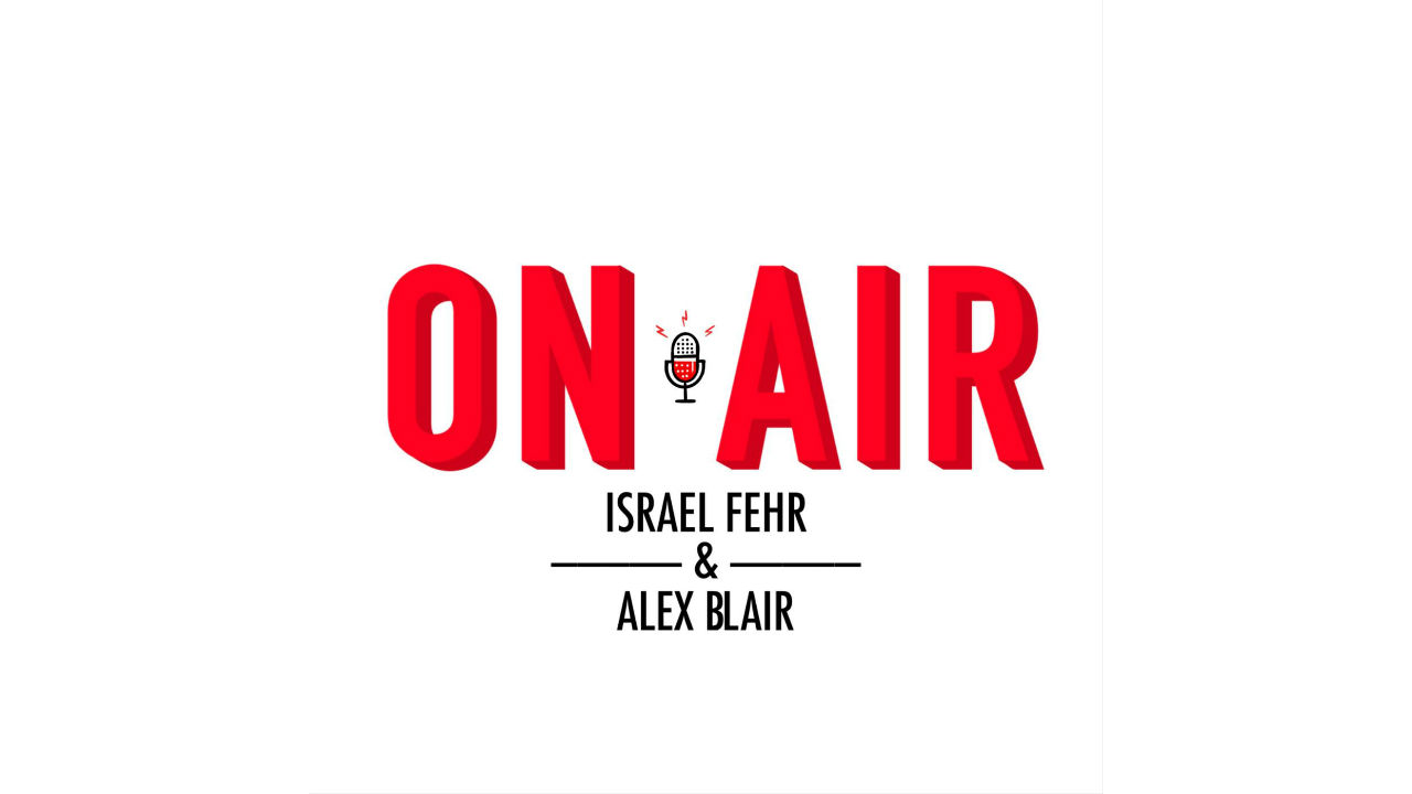 On Air with Israel Fehr and Alex Blair Logo Image