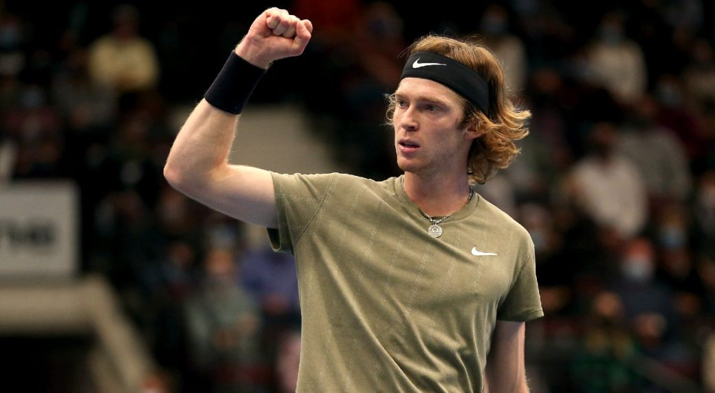 ATP Vienna: Andrey Rublev downs Lorenzo Sonego to overcome Novak Djokovic