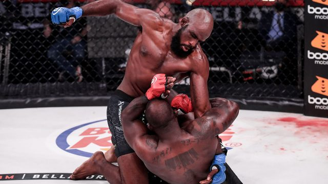 Corey-Anderson-punches-Melvin-Manhoef-from-mount-at-Bellator-251