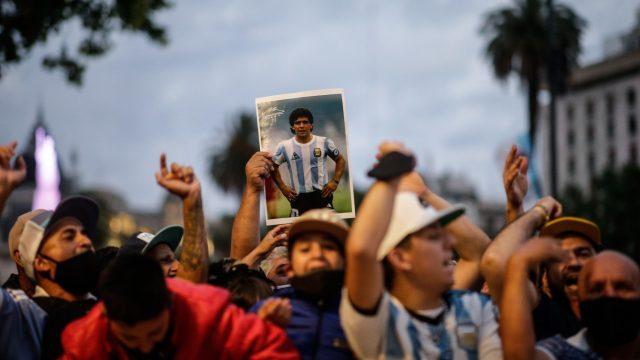 Maradona-Casa-Rosada