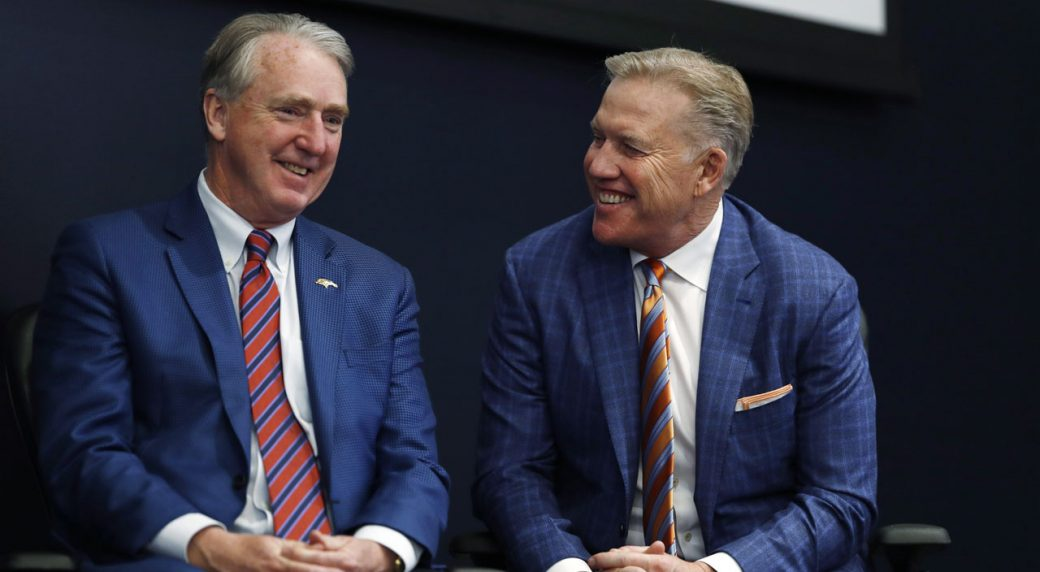 Broncos GM Elway, CEO Ellis test positive for COVID-19