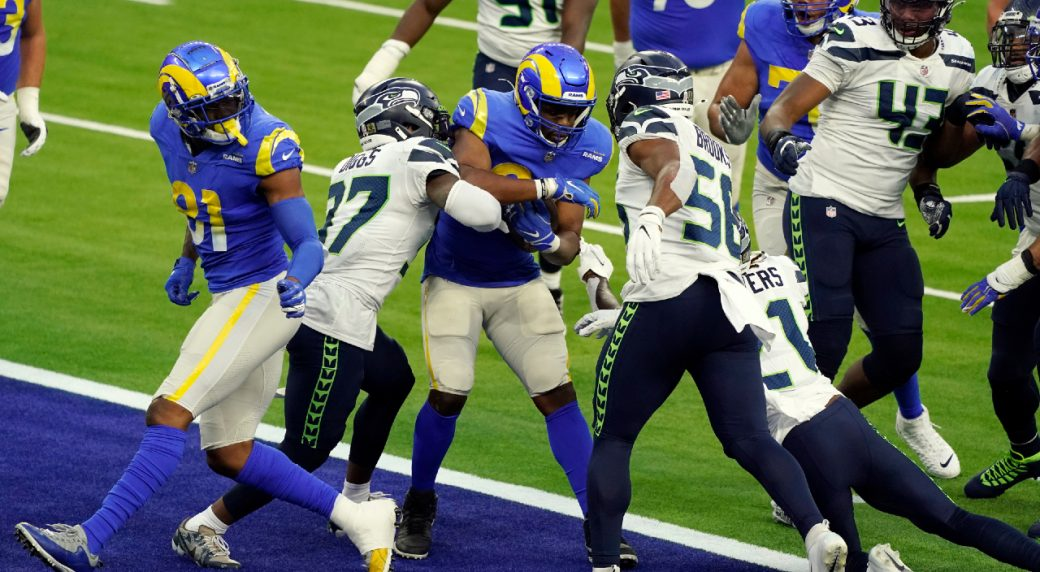 Rams Take Share Of Nfc West Lead With Win Over Seahawks