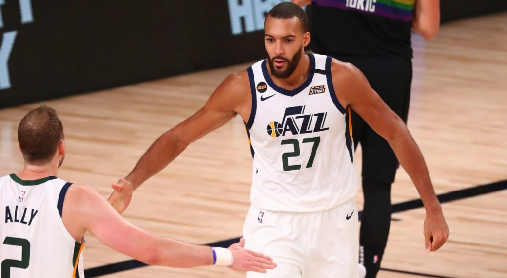 All-Star centre Rudy Gobert agrees to max contract extension with Utah Jazz