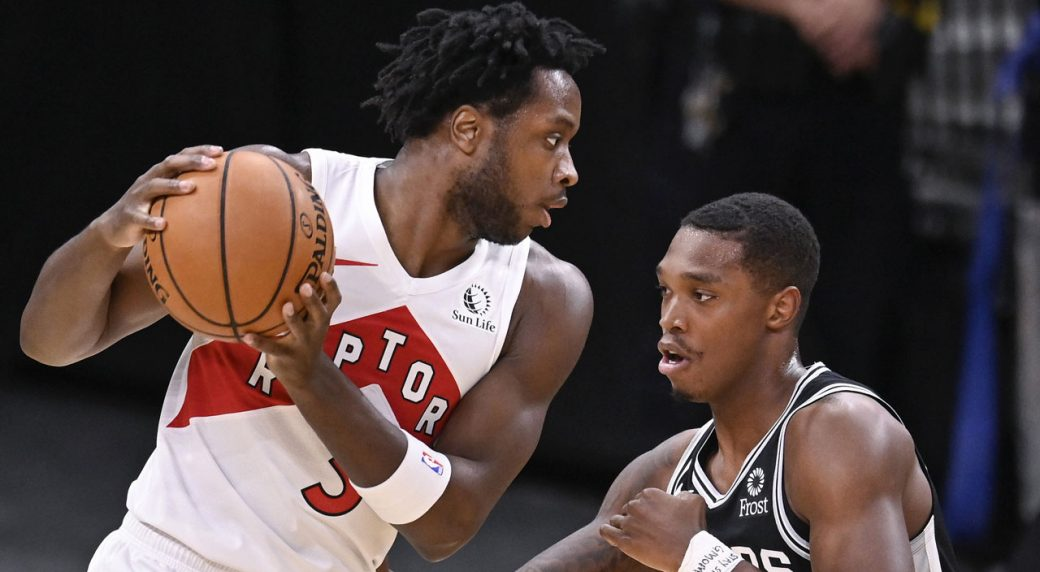 Raptors' OG Anunoby questionable for Wednesday's game vs. Bucks