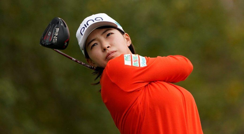 Hinako Shibuno leads by three shots at U.S. Women's Open