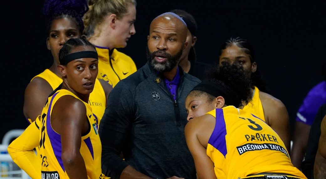Derek Fisher given contract extension and GM title for the Sparks