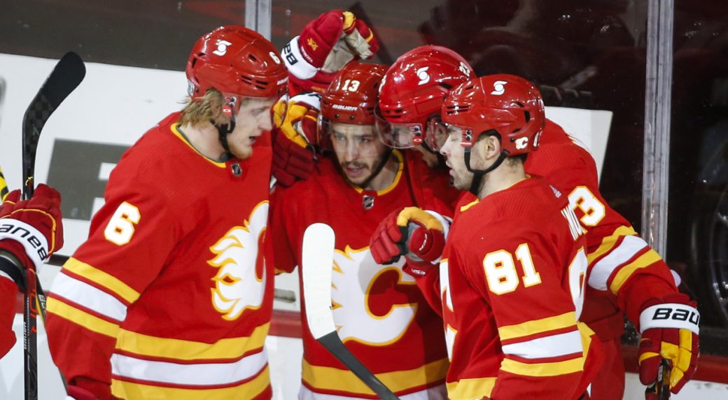Gaudreau's not losing any sleep over Sutter's per-game comments