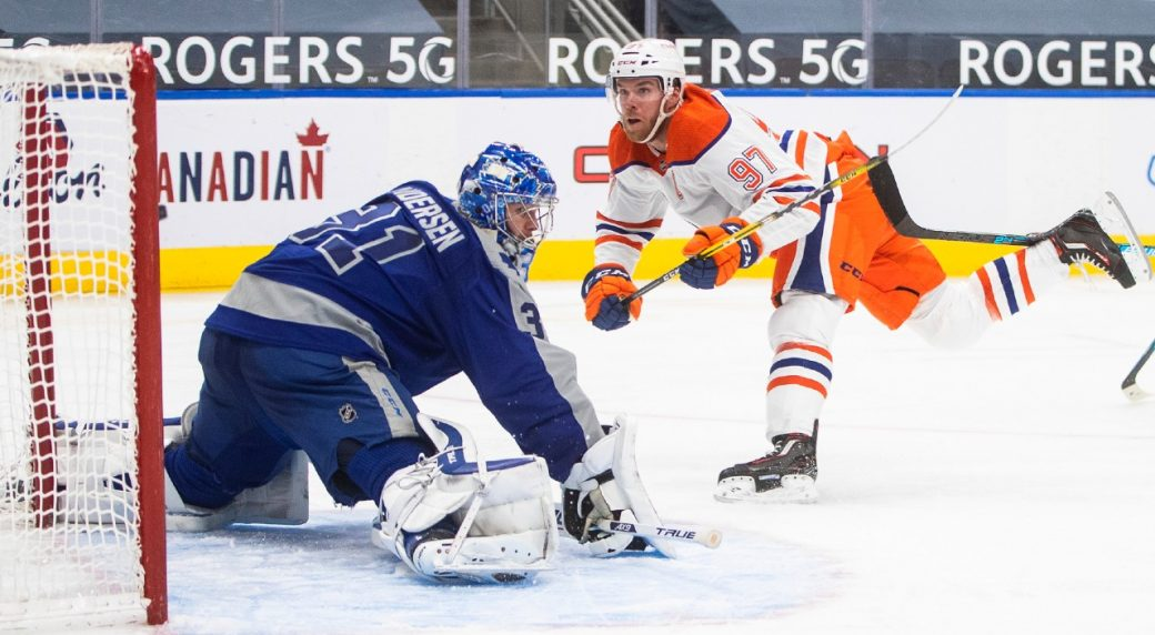 McDavid continues to show his dominance and carries the Oilers to a big win over the Leafs