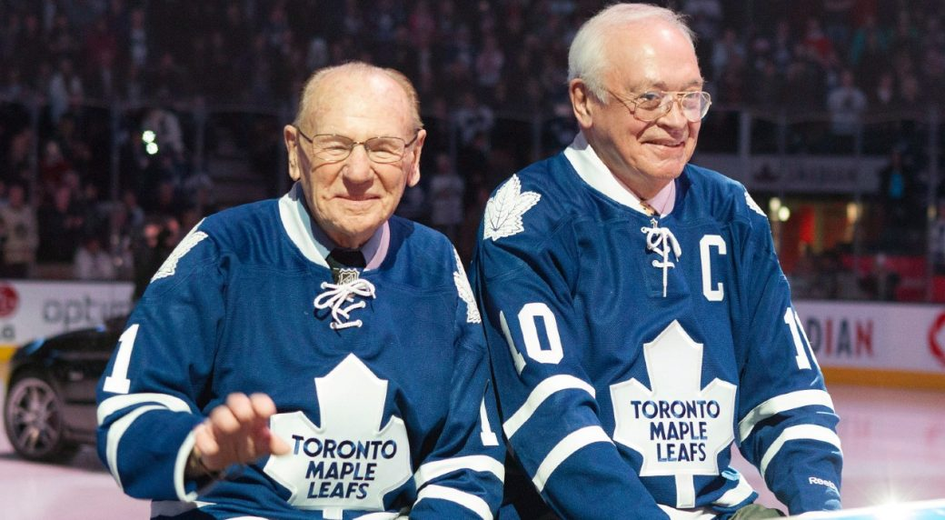 Maple Leafs legend George Armstrong dies