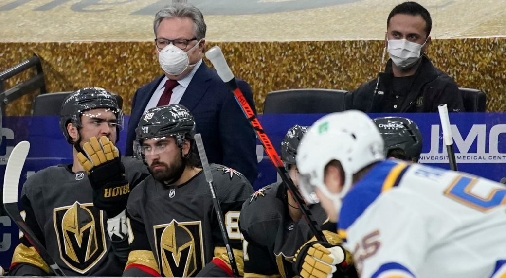 Golden Knights to close facility after positive COVID-19 case among coaches