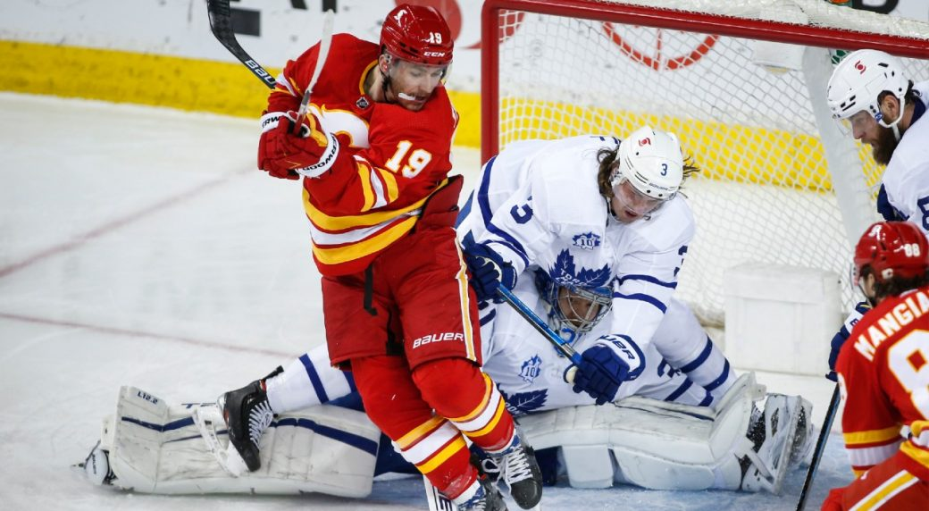 Leafs / Flames dislike heating up after Toronto takes both games and pours a little salt in the wound to boot