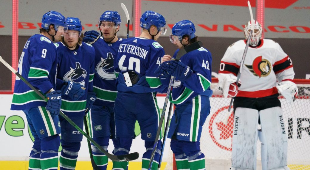 Canucks are hoping to ride the momentum of 3 wins against Ottawa