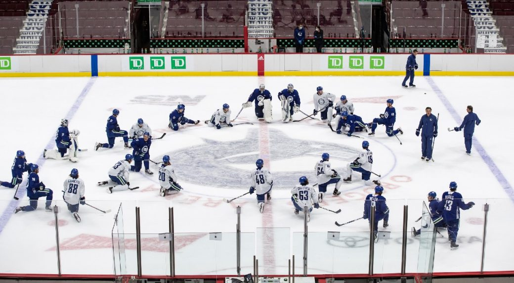 Canucks to resume practice Monday after cancelling activities on Sunday