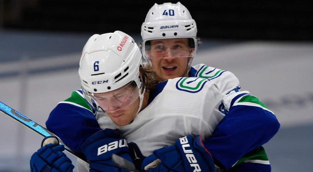 New-look Canucks' line-up doesn't take much time to gel with an opening night win