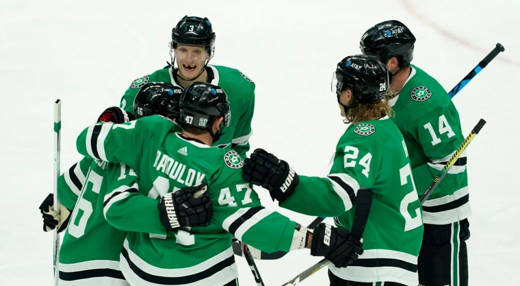 Better late than never as Stars blank the Preds in home opener