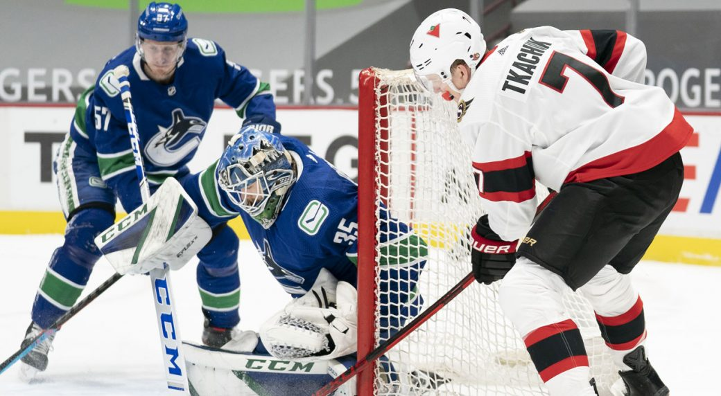 Canucks' breathe a sigh of relief after 2 straight wins over the Senators