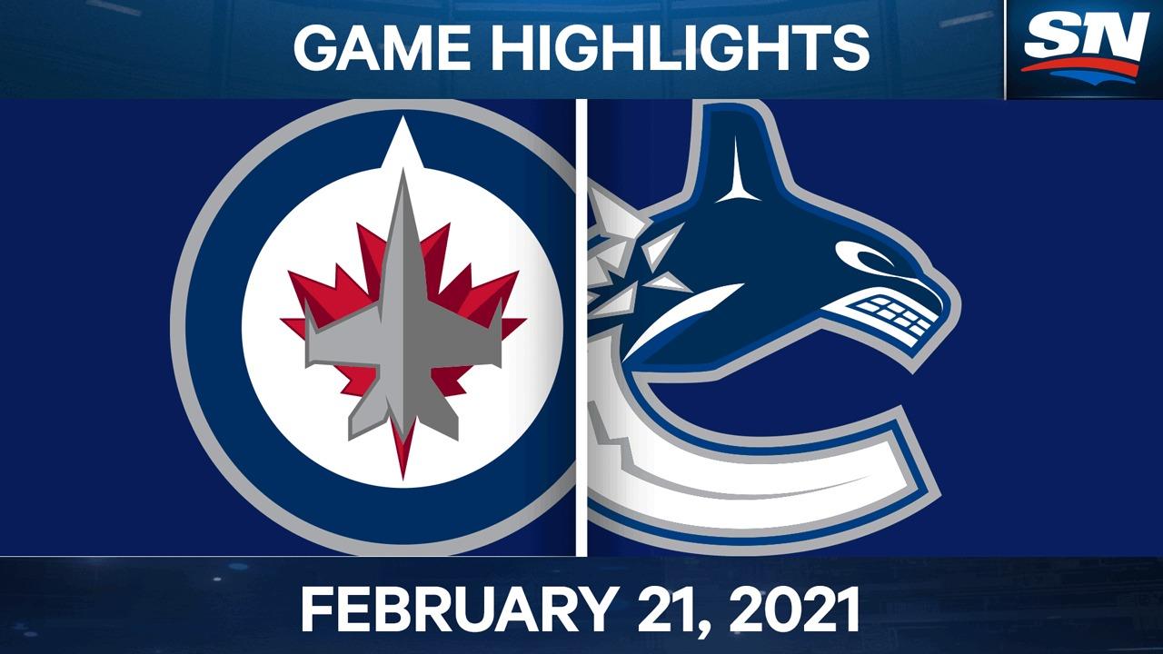 Dubois scores overtime winner as Jets down Canucks