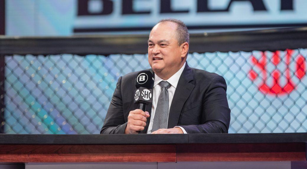 Bellator-MMA-president-Scott-Coker-during-Showtime-announcement