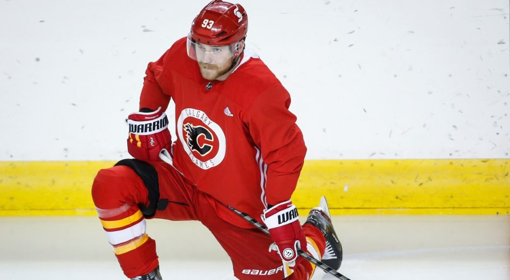 Flames hoping to end Bennett trade chatter with top-line role
