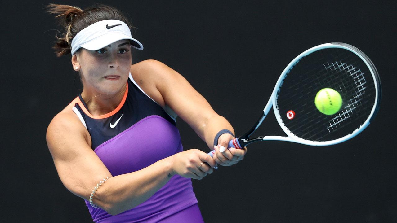 Bianca Andreescu recibe el adiós en la primera ronda del National Bank Open