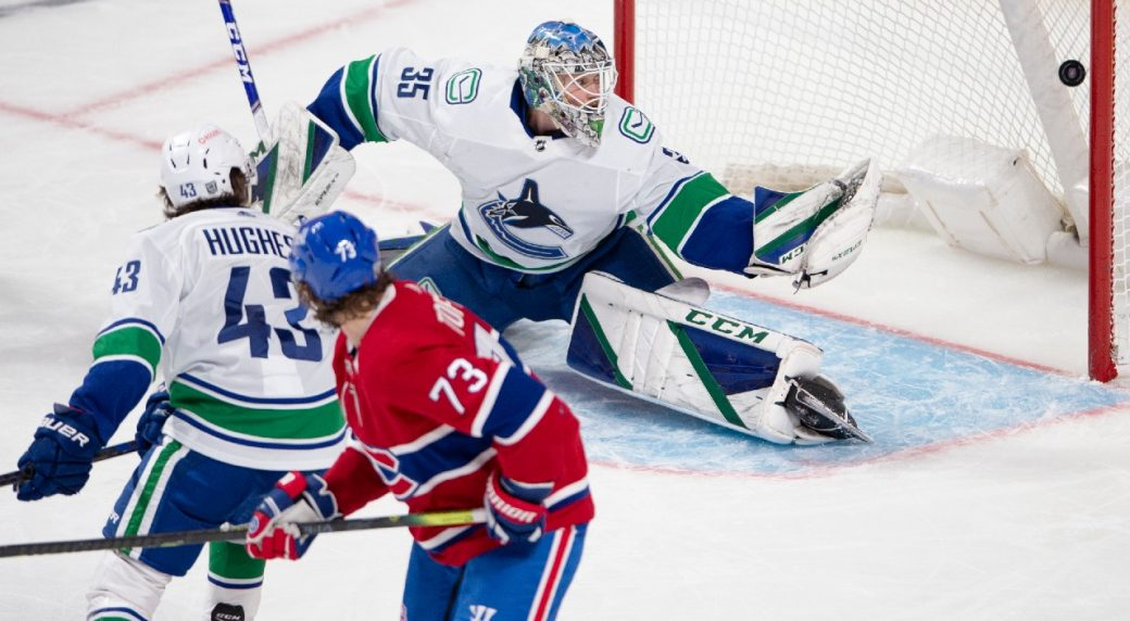 The Canucks' lose another one to the increasingly impressive Habs