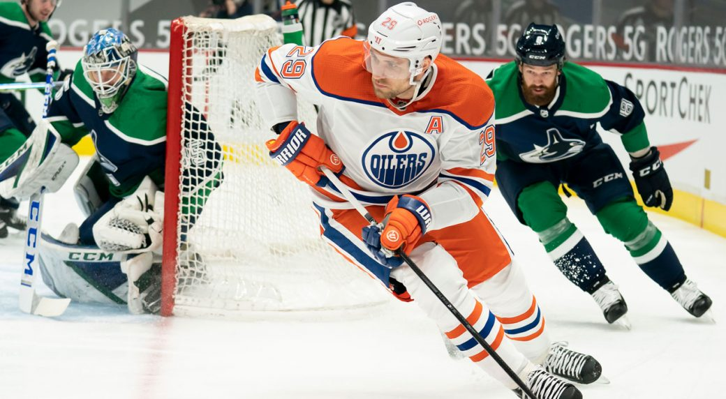 Canucks' squander another early lead as the Oilers score 4 unanswered for the win