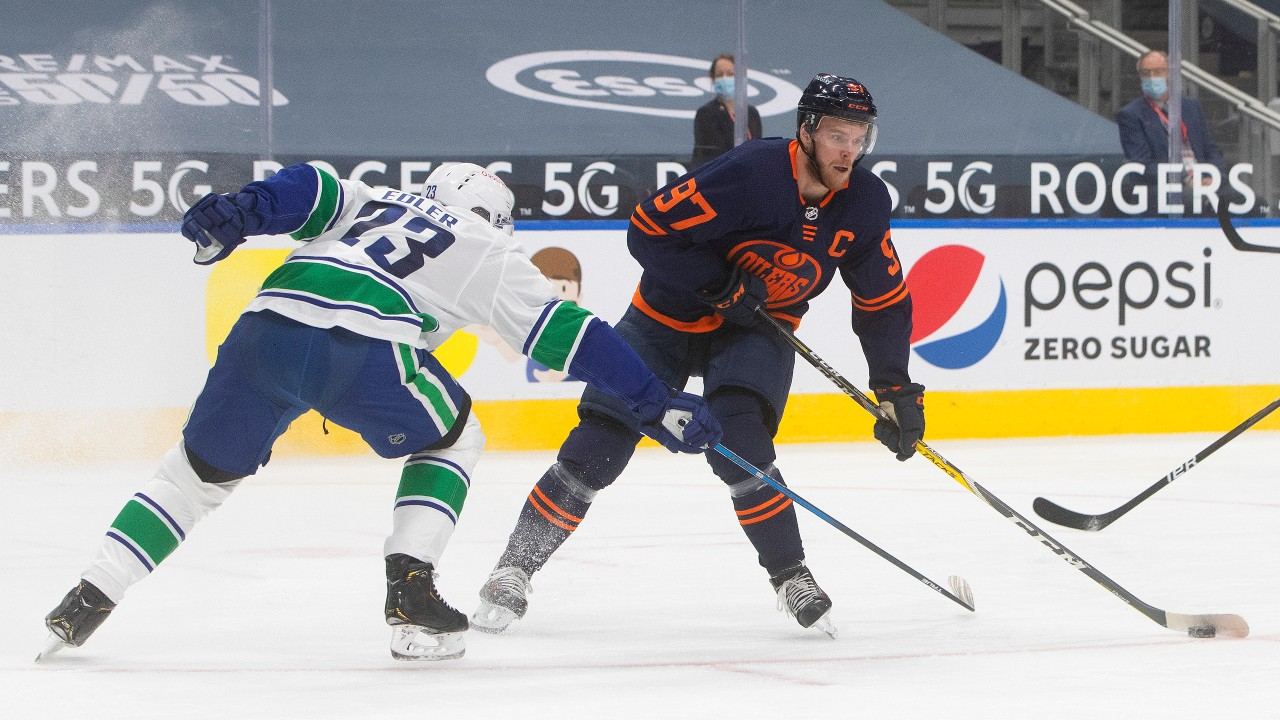 McDavid-Canucks