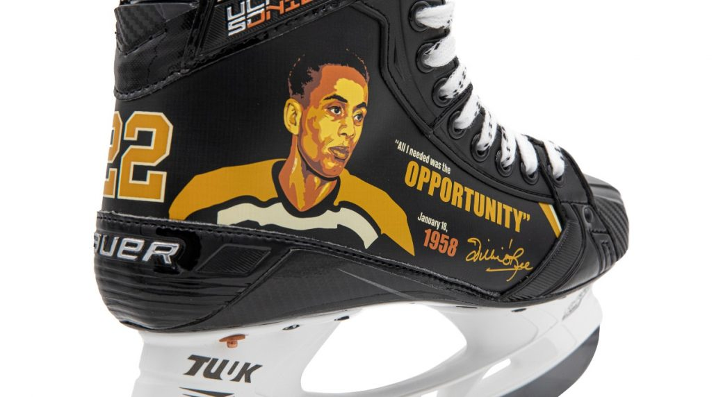 NHLers to wear Willie O'Ree-inspired skates for Black History Month