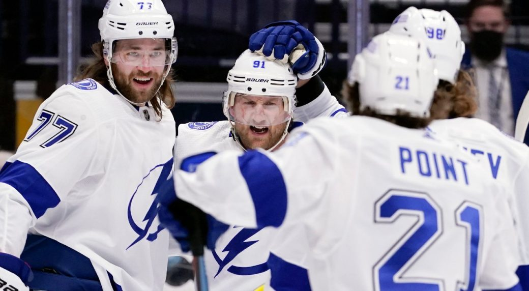 Lightning end a long cold streak with a win over the Hurricanes