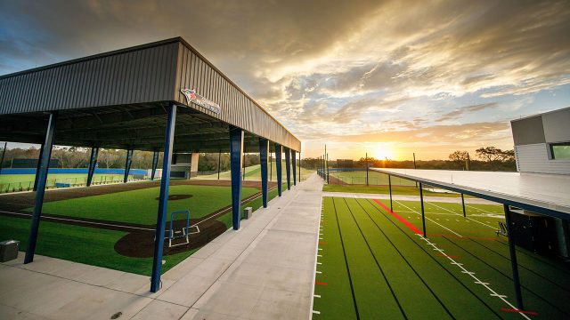 A-view-of-some-facilities-at-the-Toronto-Blue-Jays-player-development-complex-in-Dunedin,-Florida