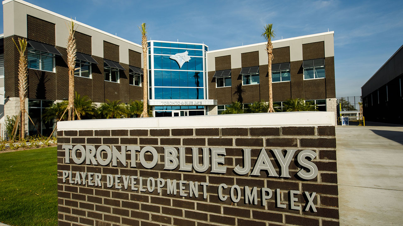 The-exterior-of-the-Toronto-Blue-Jays-player-development-complex-in-Dunedin