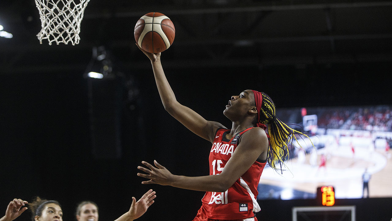 Why Canadian NCAA hoops star Aaliyah Edwards is unafraid of the moment