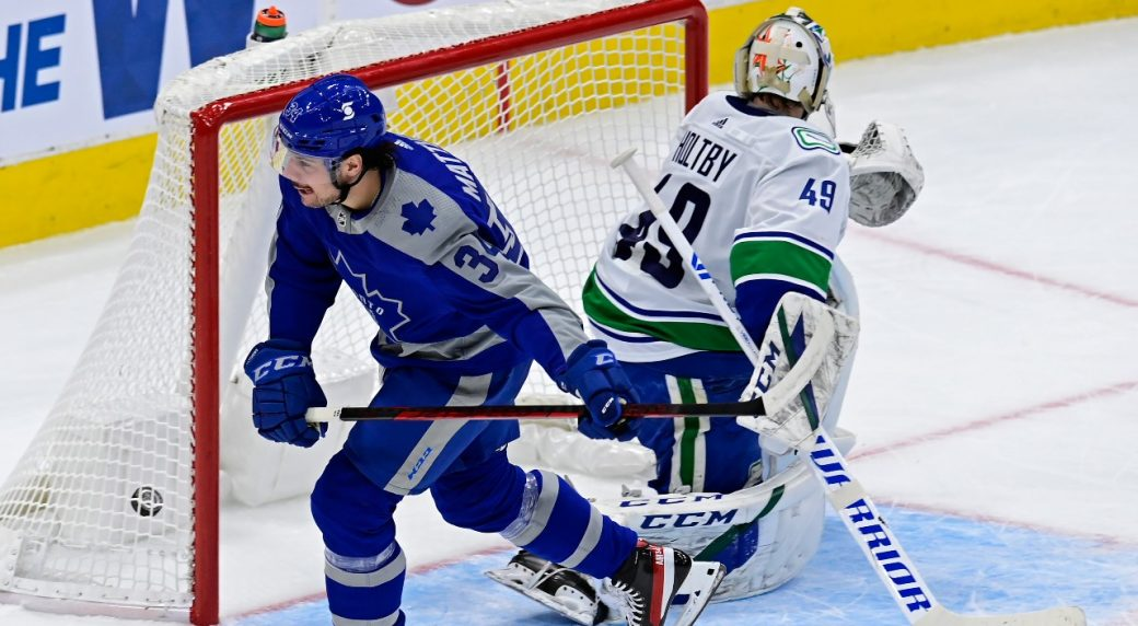 The Leafs continue their dominance over the Canucks with a crushing 5-1 win