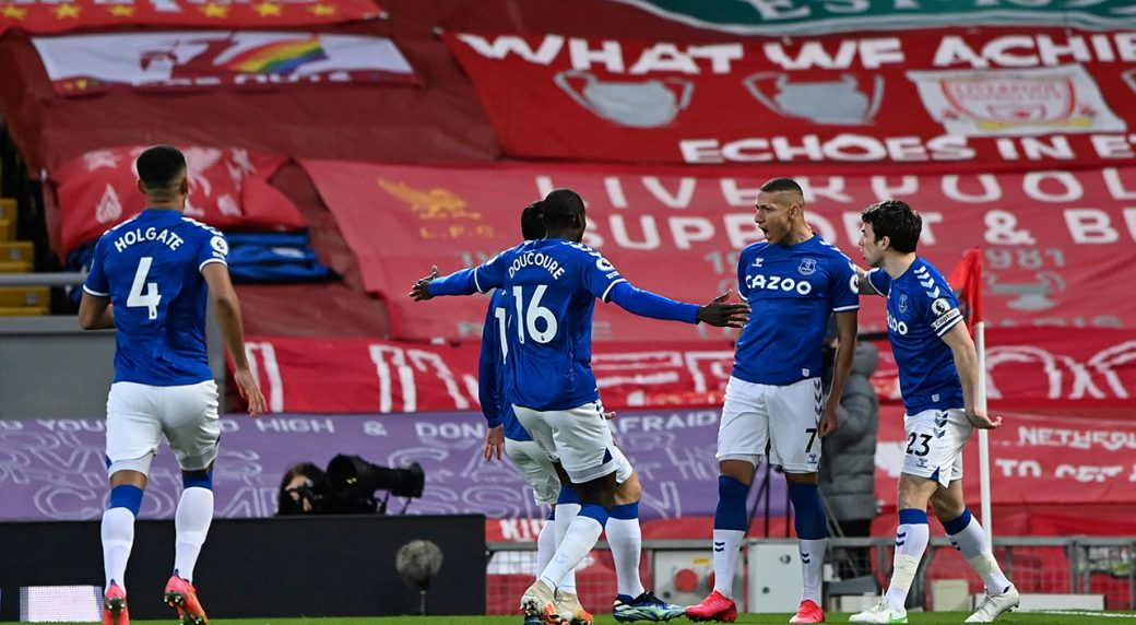 Everton S First Anfield Win Since 1999 Adds To Liverpool Woes