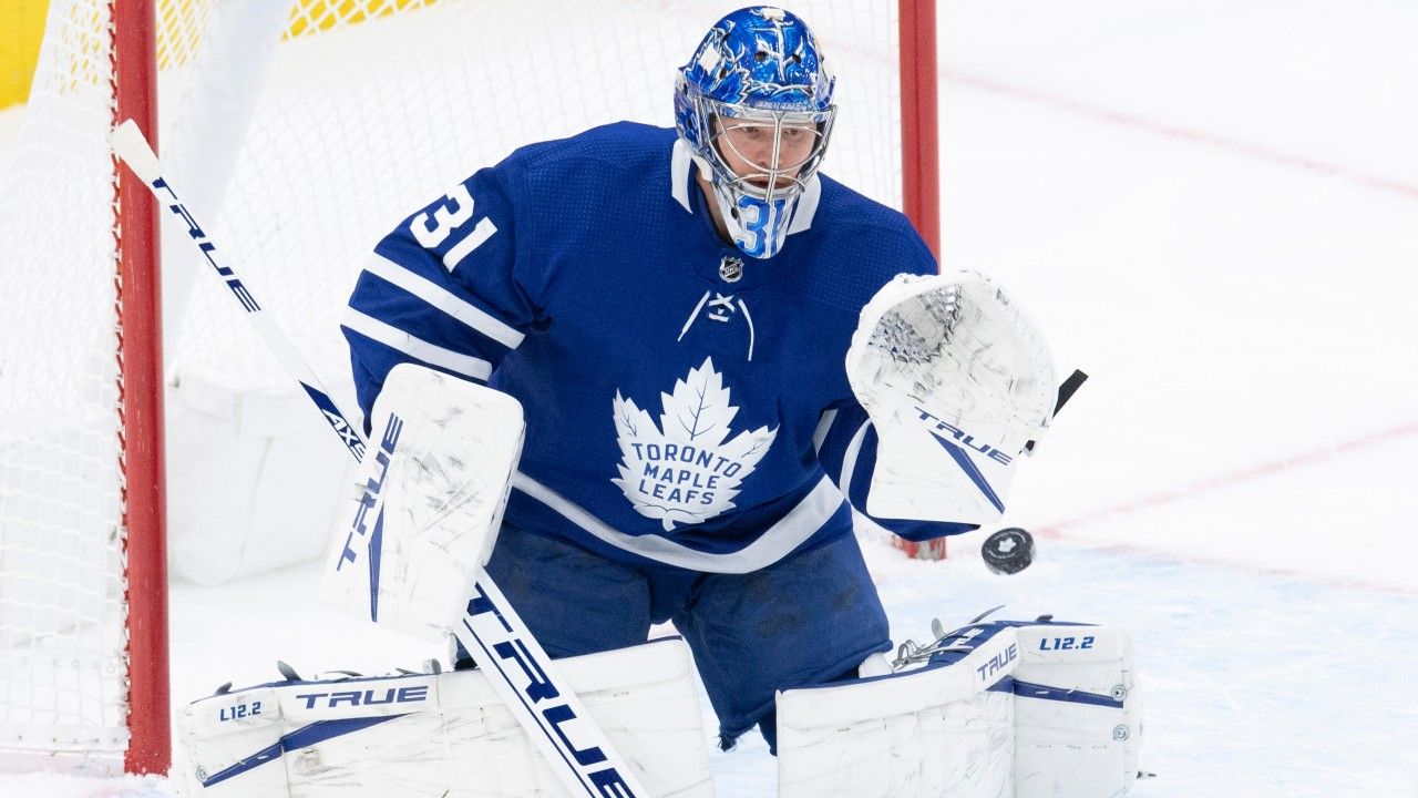 Can the Leafs count on the health of their goalies come playoffs?