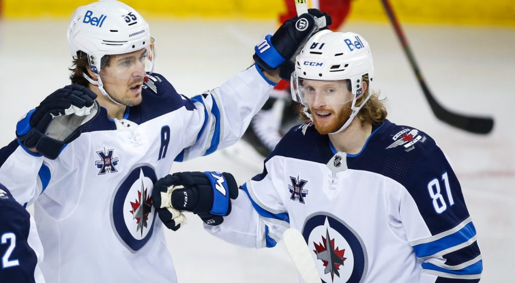 Jets show with dominant win vs. Flames they've mastered art of the rebound