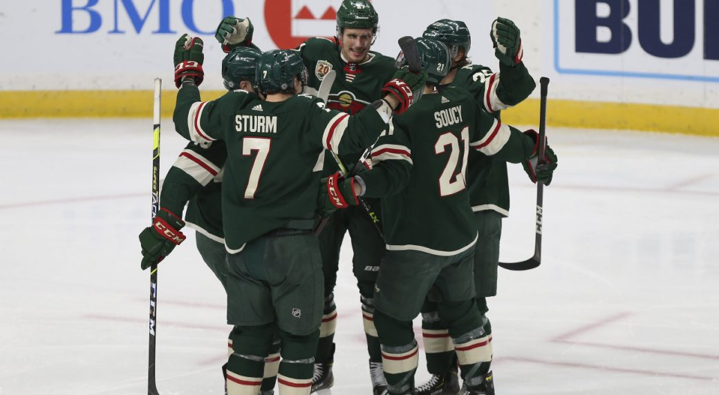 Wild win a tight one 2-1 over the Ducks