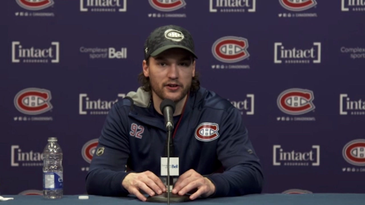 Drouin hopes to get Staal his first goal in his first game with Canadiens