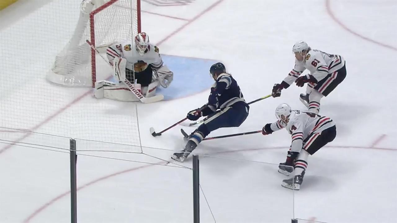Gotta See It: Laine scores insane end-to-end rush goal vs. Blackhawks
